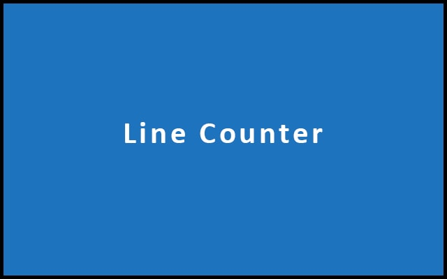 Line Counter - Count Lines Online
